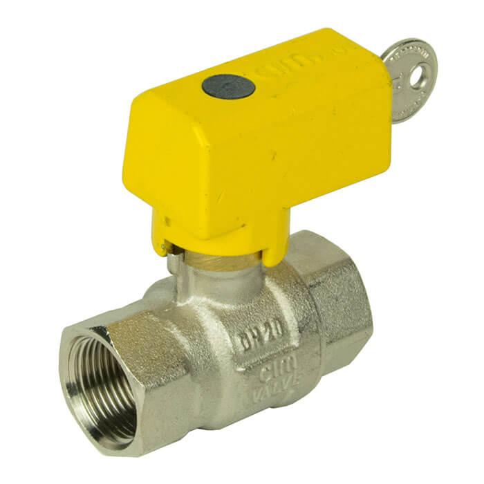 Full Bore Lockable Gas Ball Valve