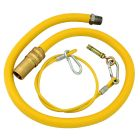 Caterquip 1/2in x 1500mm Gas Catering Hose