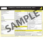 Gas Safe Commercial Catering Inspection Record - Part A & B