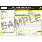 Gas Safe Service & Maintenance Record Pad
