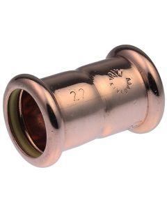 15mm Pegler Yorkshire Xpress Copper Gas Coupler