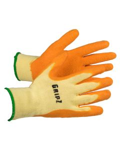 Arco Gripz Palm Coated Latex Glove - Large