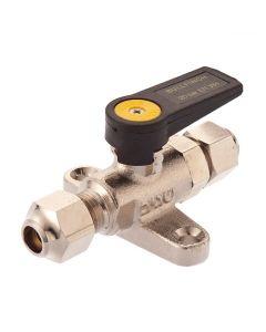 Bullfinch Mini-Gas Ball Valve - 5/16in Compression