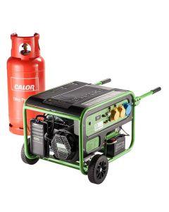 Greengear 6kW Portable LPG Power Generator