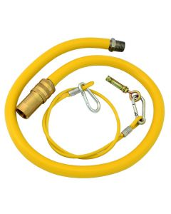 Caterquip 3/4in x 1000mm Gas Catering Hose