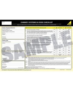 Gas Safe Flues In Voids Checklist