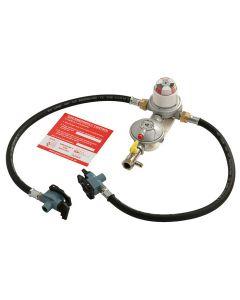 Reca Automatic Changeover LPG Propane Gas Regulator Kit T.G