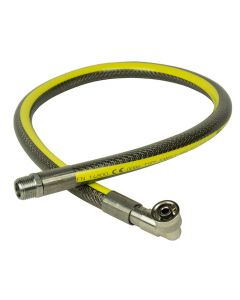 """Micropoint Universal Gas Cooker Hose 1000mm x 1/2"""" bore"""