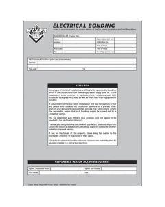 Hayes Electrical Cross Bonding Pad
