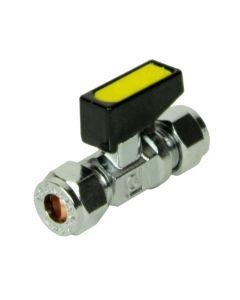 Mini Gas Ball Valve - 8mm x 8mm