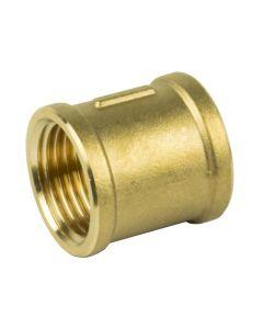 """1/2"""" Bsp Equal Brass Socket"""