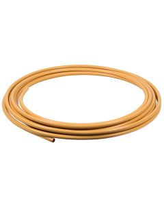 8mm x 25 Metres Yellow PVC Coated Copper Tube