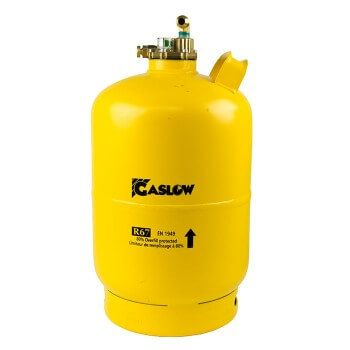 Gaslow refillable cylinders